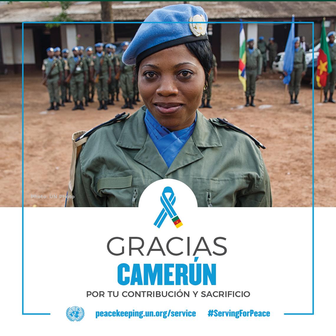 Gracias Camerún