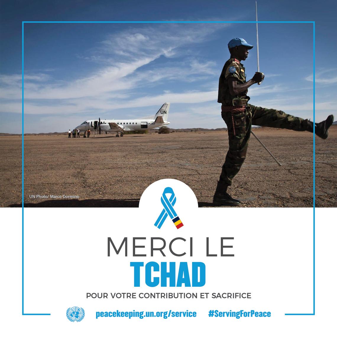 Merci le Tchad