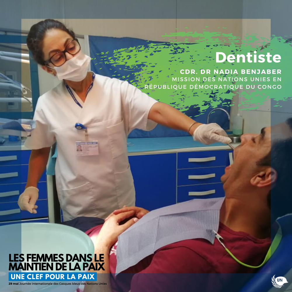 Portrait de Dentiste