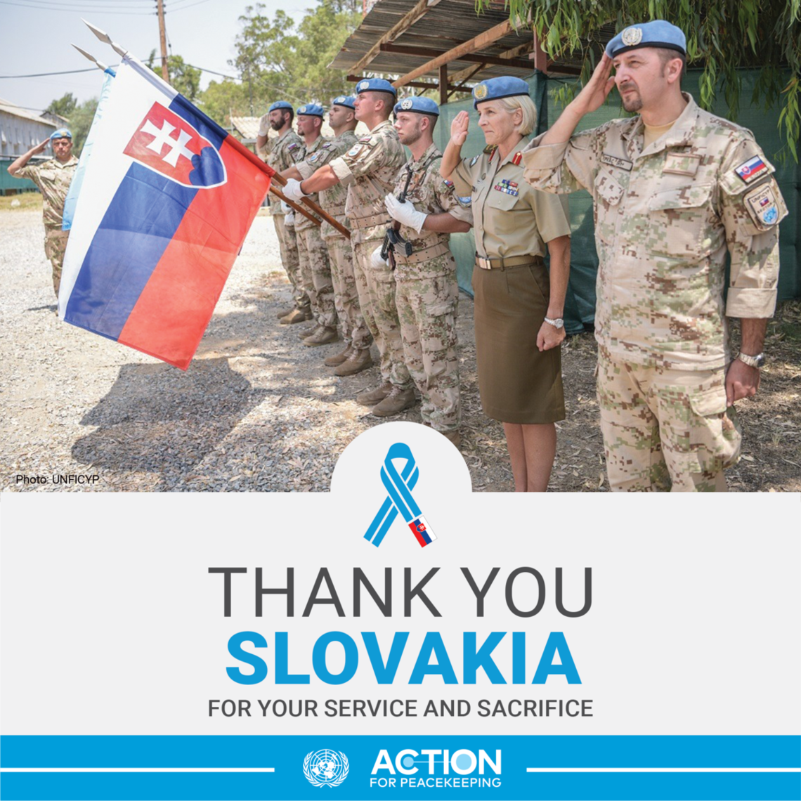 Thank you Slovakia for your service and sacrifice