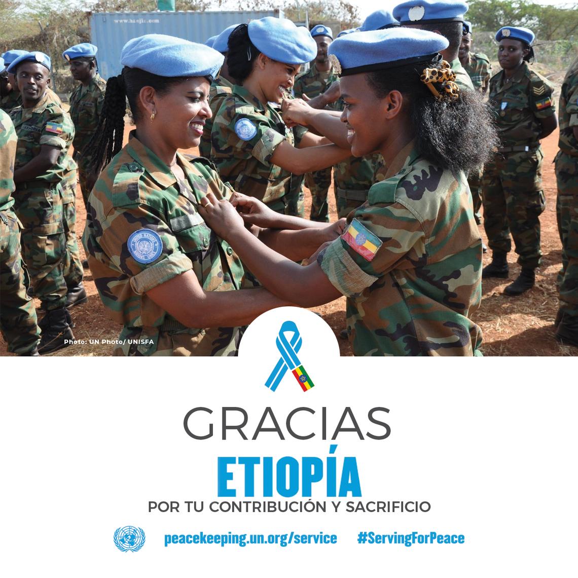 Gracias Etiopía
