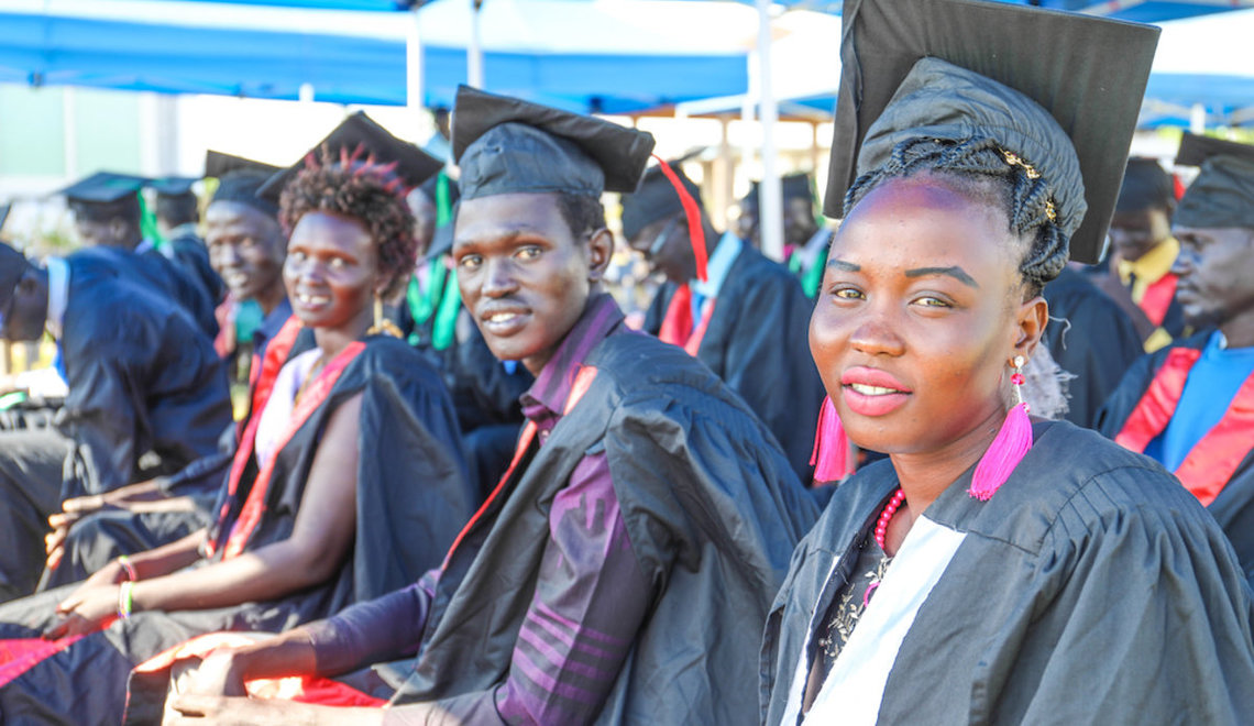 "Graduates at vocational centre in Bor: ""We will transform our families and South Sudan"""