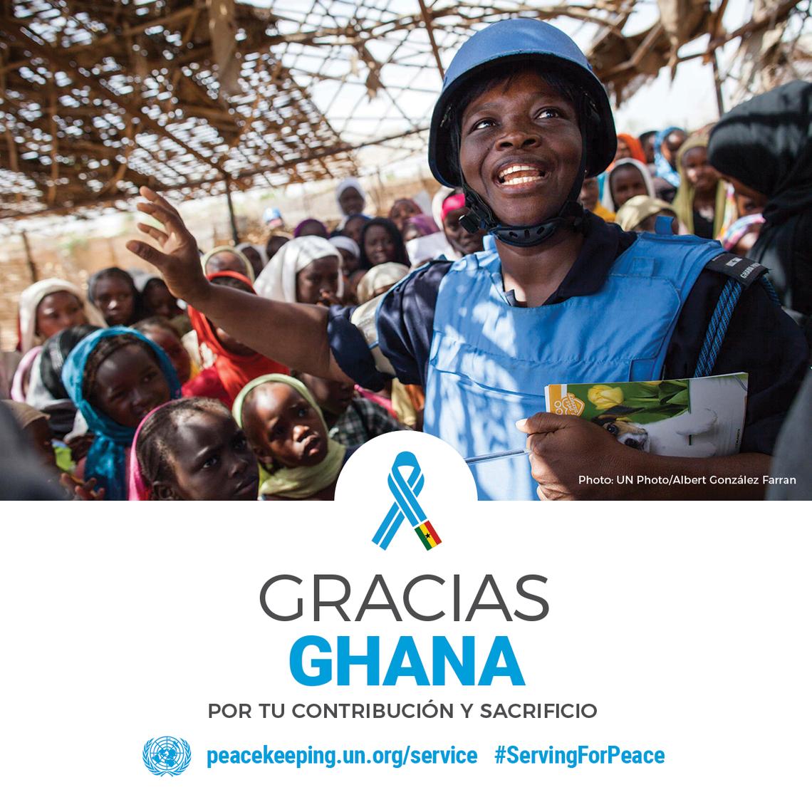 Personal de la Paz en Ghana