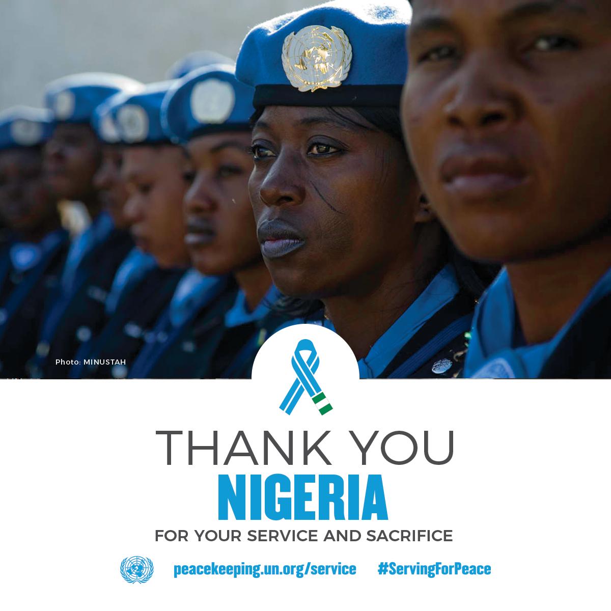 Nigeria | United Nations Peacekeeping