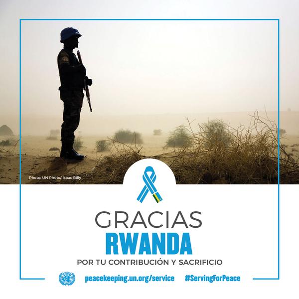 Gracias Rwanda