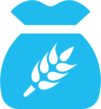 Catering services and rations icon