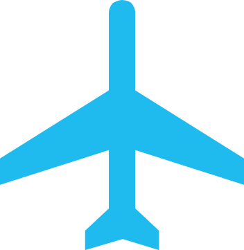 Air transportation icon