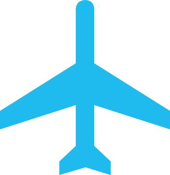 Air transportation icon