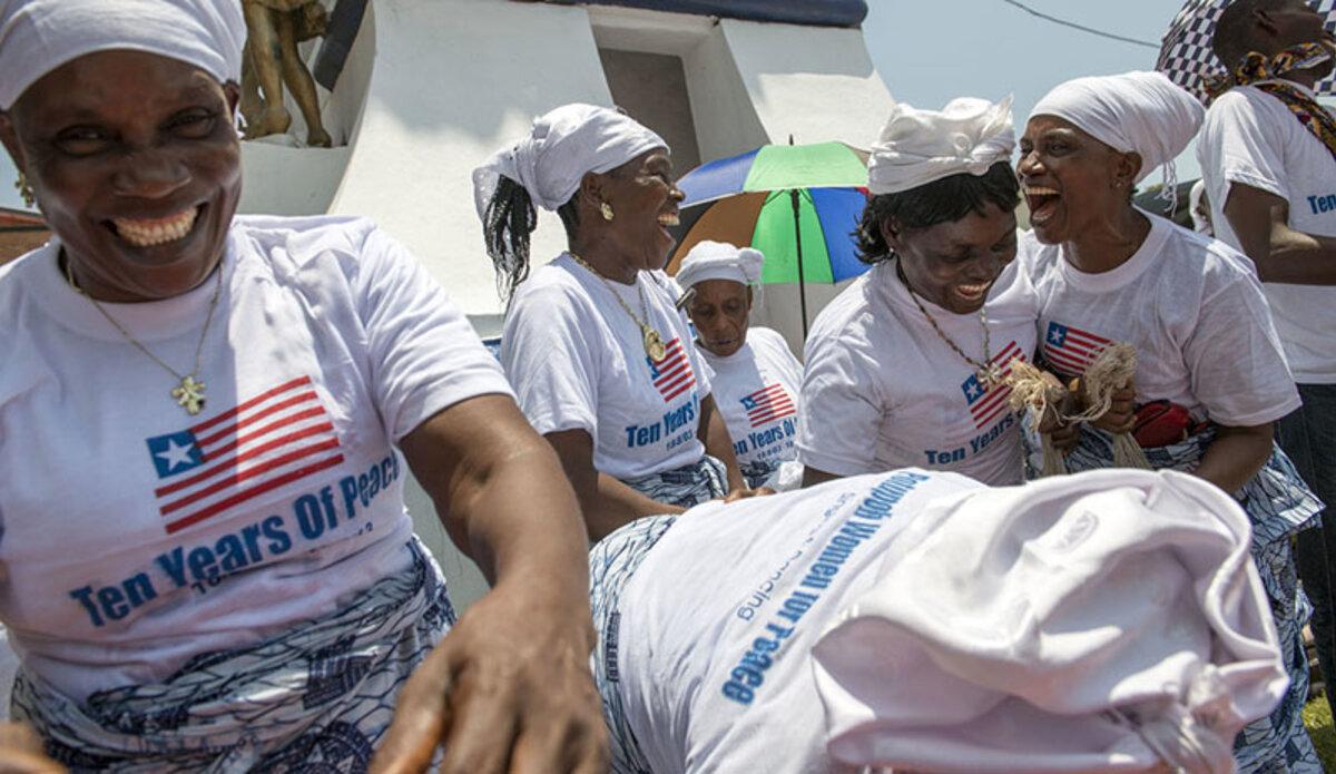 La Mission de maintien de la paix au Libéria a félicité le peuple et le Gouvernement du pays pour plus d'une décennie de paix.
