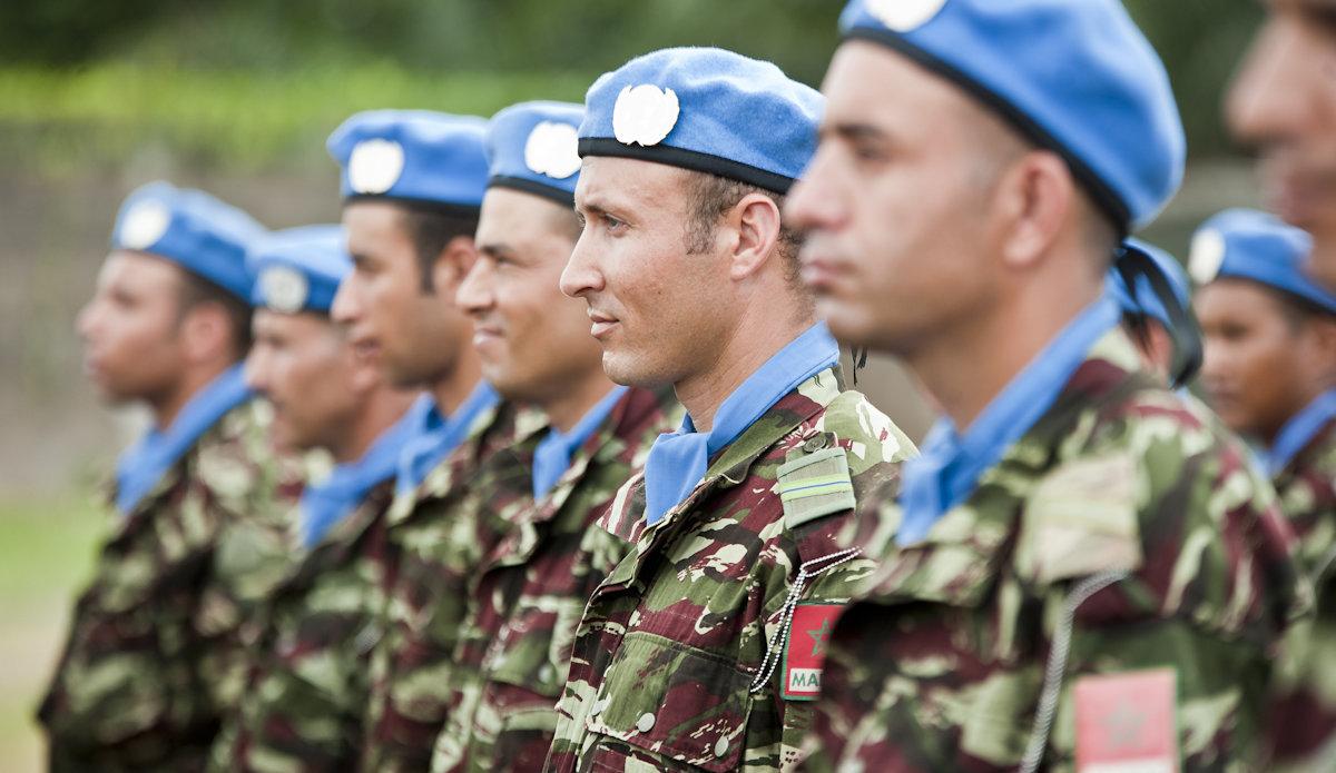 Миротворцы из Марокко