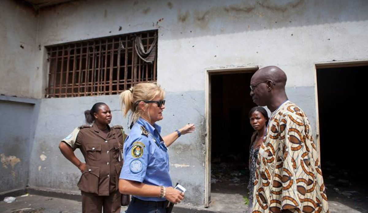 Did you know that by protecting the rights of prisoners, #UN Peacekeeping promotes faith in a country's legal system and the long-term stability it fosters?