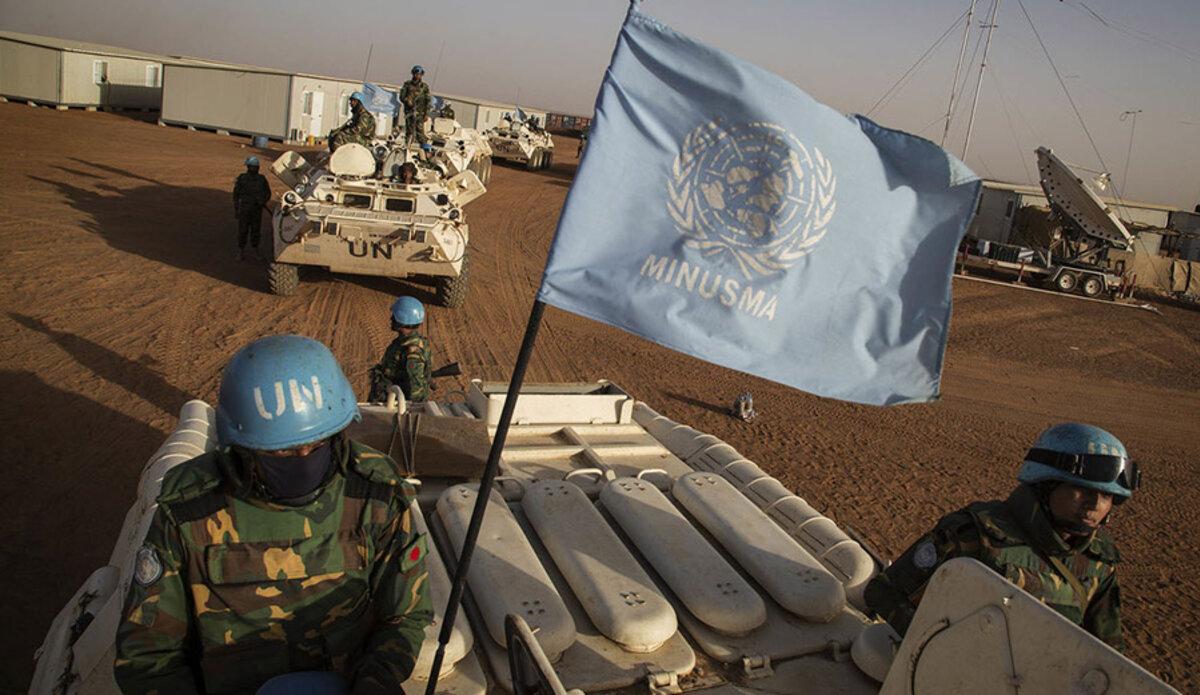 Des troupes de maintien de la paix des Nations Unies