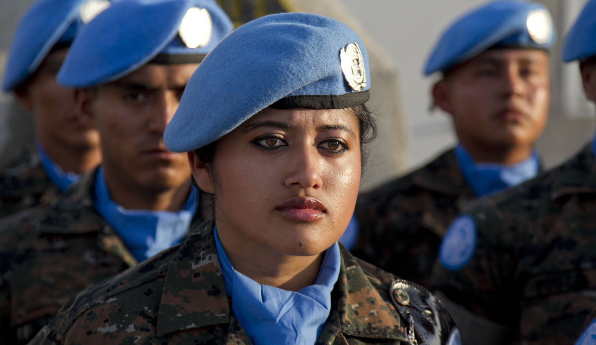 Guatemala United Nations peacekeepers were awarded the UN medal of recognition for their service to the United Nations Mission in Haiti