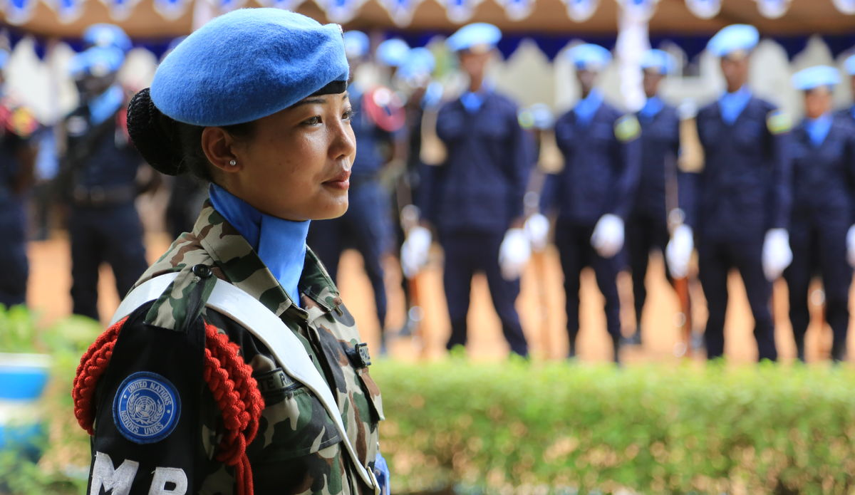 Celebration of the International Peacekeepers' Day