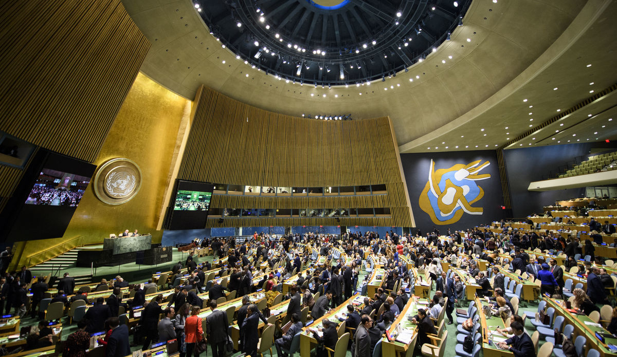 role of the general assembly | united nations peacekeeping