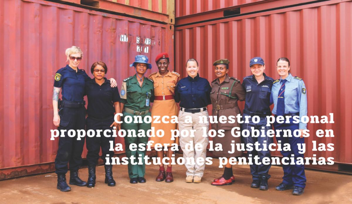 Grupo de personas: personal de Justicia e instituciones penitenciarias.