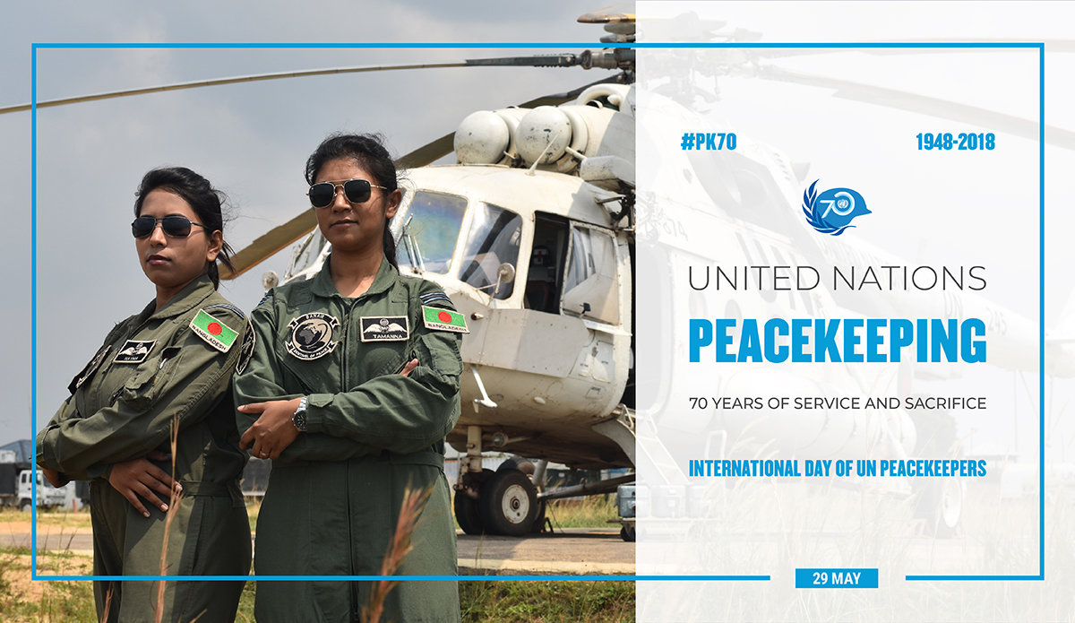 UN Peacekeeping: 70 Years of Service & Sacrifice   United Nations