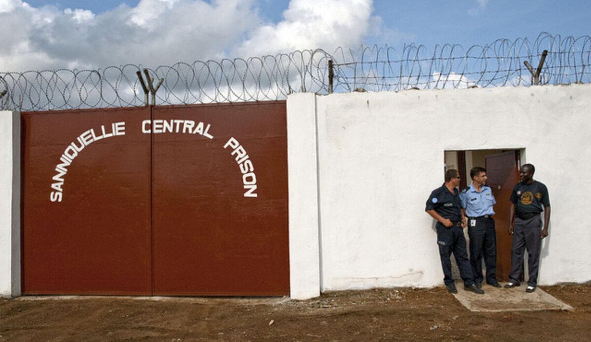 Тюрьма в Либерии