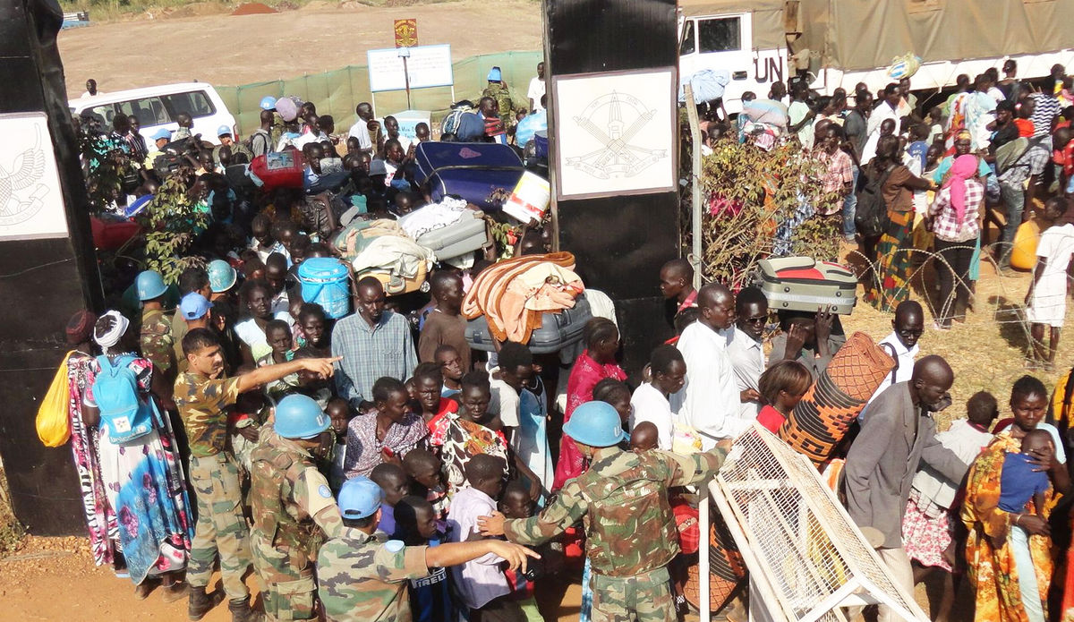 UNMISS peacekeepers from all contingents have been assisting displaced civilians by providing protection, building sanitation and providing medical support