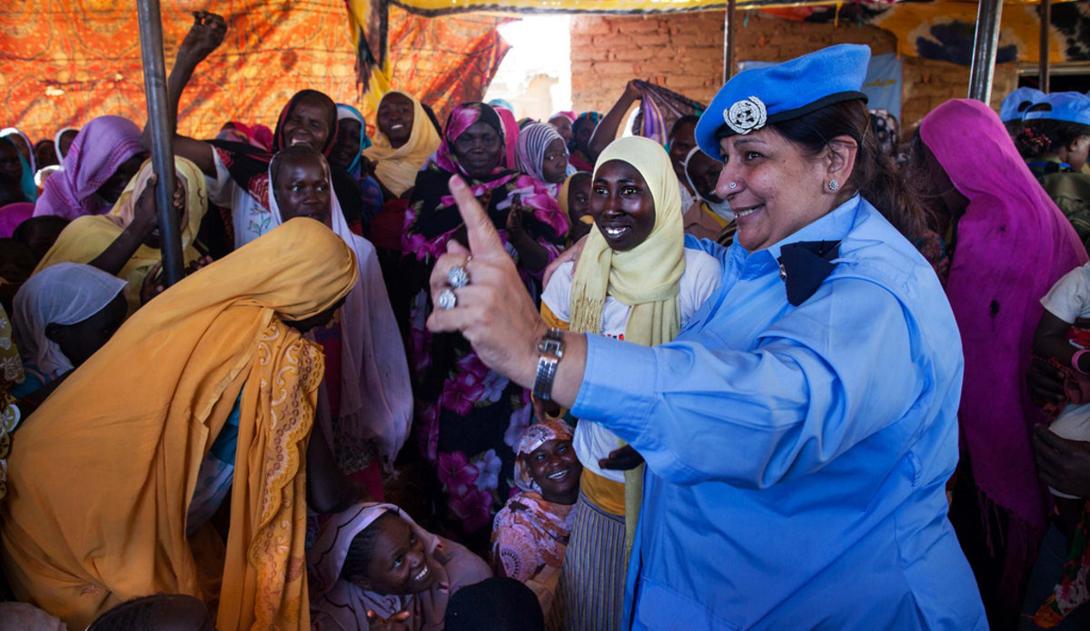 Peacekeepers serving under the UN flag work in difficult and dangerous environments, risking their lives to protect some of the world's most vulnerable people around the world.