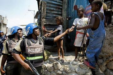 PÁGINA WEB DE LA POLICÍA DE LA ONU