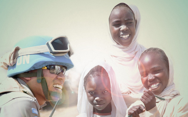 Peacekeepers Day: A force for the future Graphic