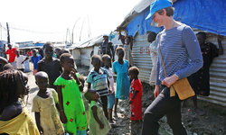 British commander at UN Mission in South Sudan serves as role model for young women