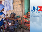 UN Peacekeeping Conference Banner