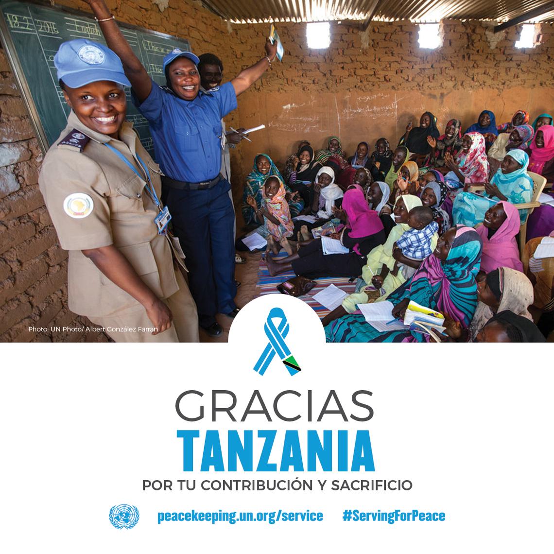Gracias Tanzania
