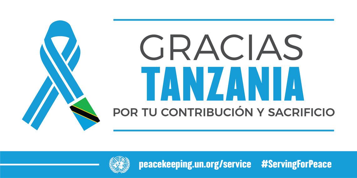 anzania aporta militares y policías para seis misiones de la paz de la ONU.