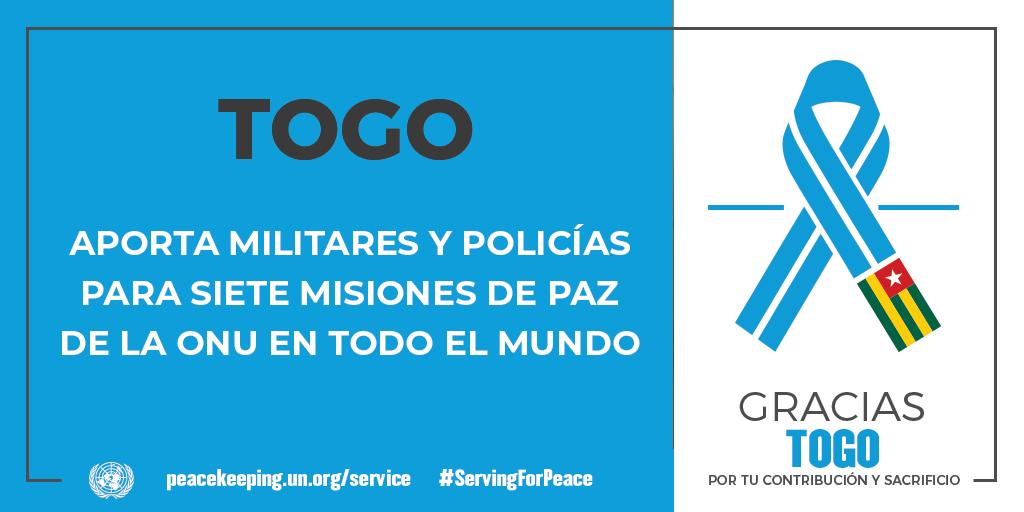 Aporta militares y policías para siete misiones de paz de la ONU en todo el mundo