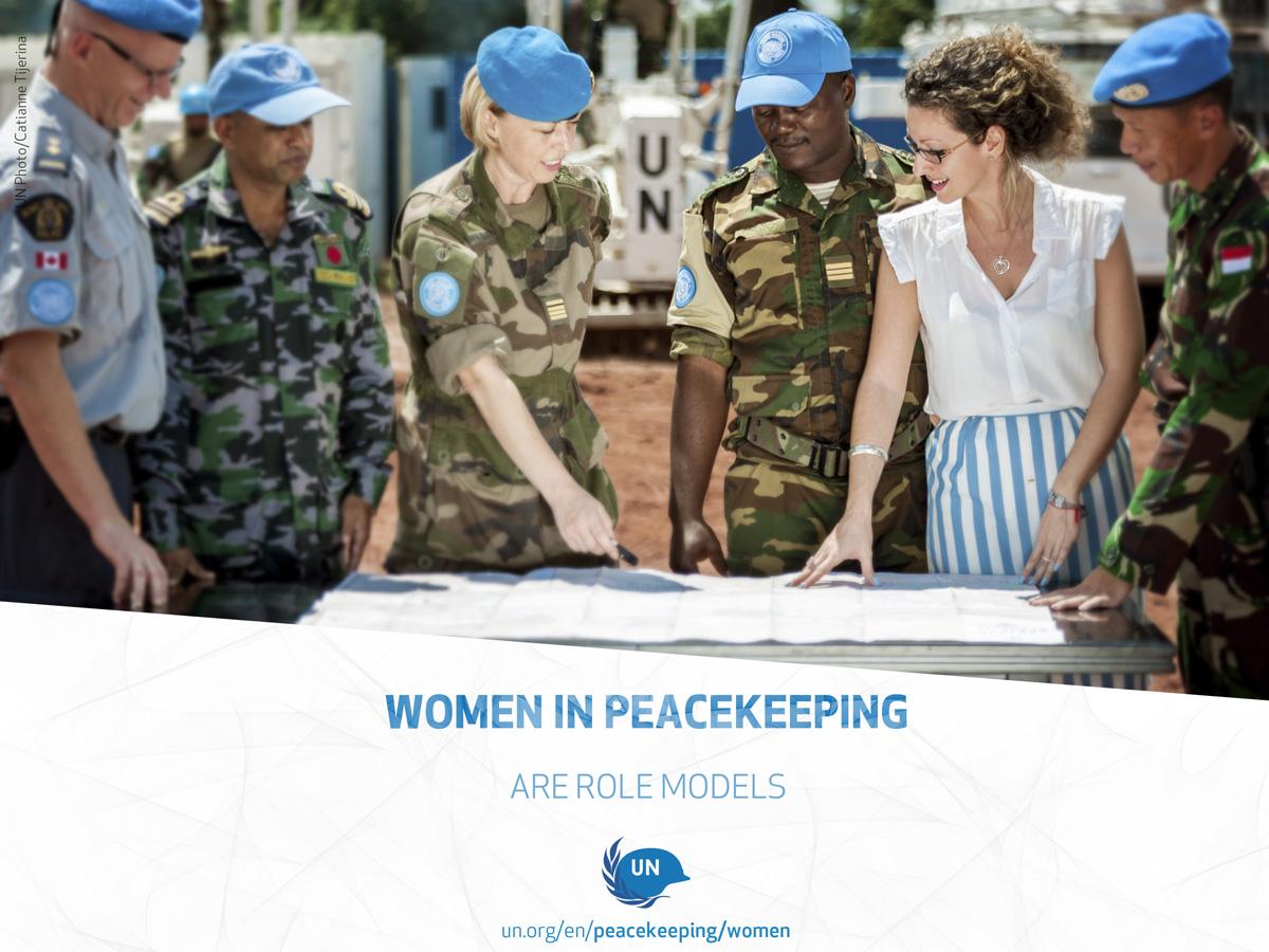 Women in peacekeeping | United Nations Peacekeeping